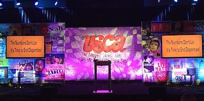 USCA opening crowd